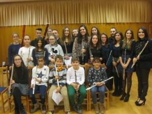 Audició de flautes, oboès i fagots, 05-12-2015